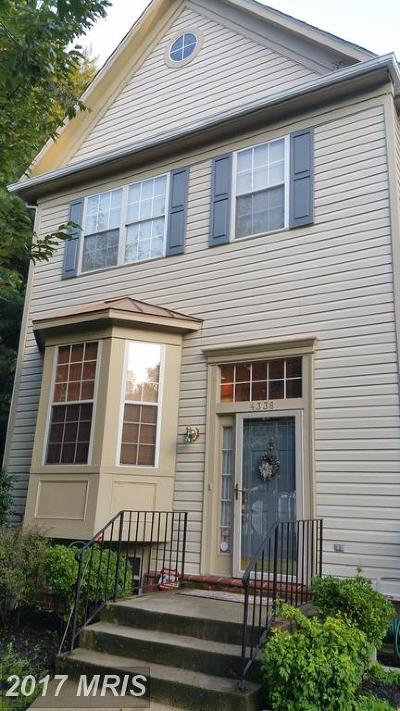 Randallstown Townhouse For Sale: 4338 Pinefield Court