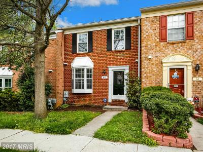 Owings Mills Townhouse For Sale: 40 Wellspring Circle