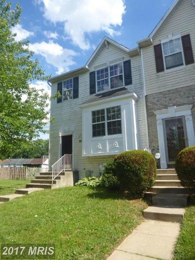 Randallstown Townhouse For Sale: 3543 Seapines Circle