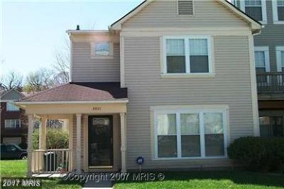 Randallstown Townhouse For Sale: 4144 Hunters Hill Circle
