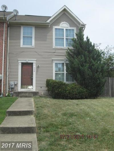 Baltimore Townhouse For Sale: 772 Villager Circle