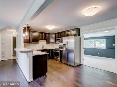 Baltimore Single Family Home For Sale: 3644 Langrehr Road