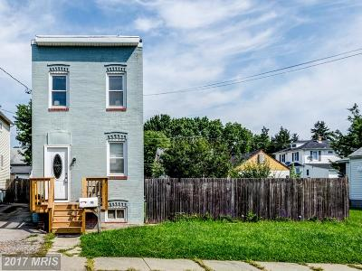 Halethorpe Single Family Home For Sale: 10 5th Avenue