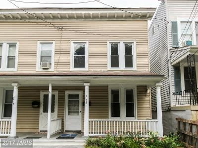 Perry Hall Townhouse For Sale: 8834 Fox Circle