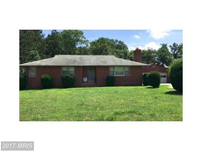 Reisterstown Single Family Home For Sale: 117 W. Cherry Hill Road