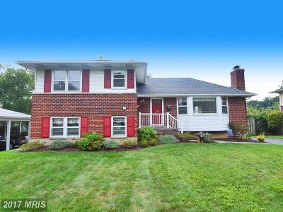 Towson Single Family Home For Sale: 607 Seabrook Road