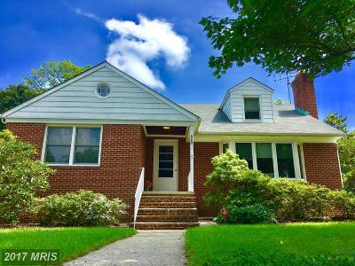 Baltimore Single Family Home For Sale: 6705 Canongate Road