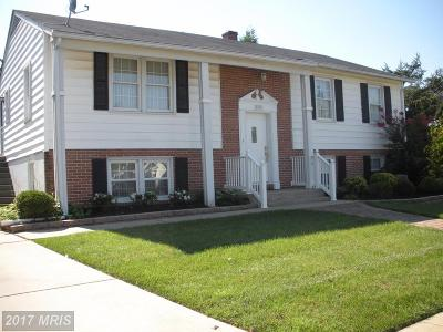 Baltimore Single Family Home For Sale: 8803 Parlo Road