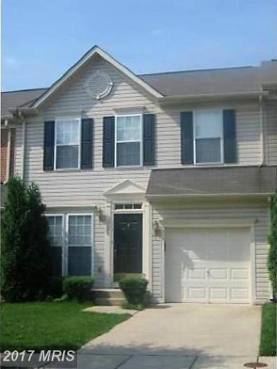 Owings Mills Townhouse For Sale: 5109 Gold Hill Road