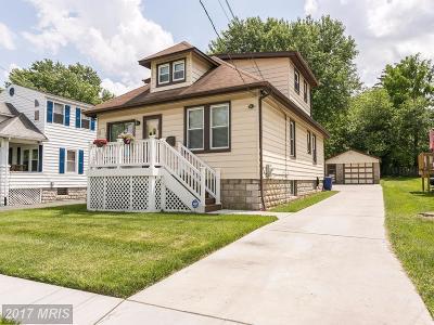 Baltimore Single Family Home For Sale: 117 Susquehanna Avenue