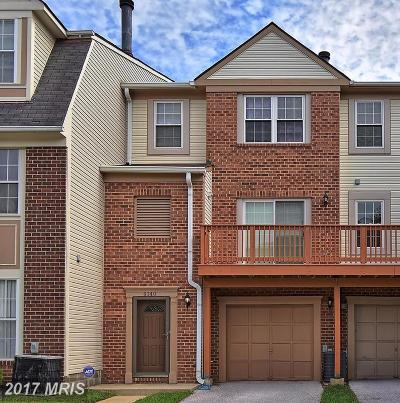 Randallstown Townhouse For Sale: 4140 Hunters Hill Circle