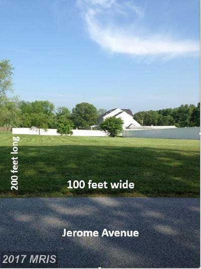 White Marsh Residential Lots & Land For Sale: Jerome Avenue