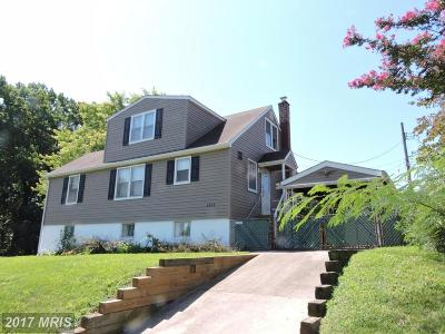 Baltimore Single Family Home For Sale: 3343 Woodside Avenue
