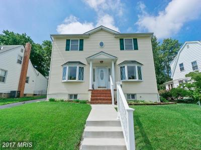 Baltimore Single Family Home For Sale: 5542 Oakland Road