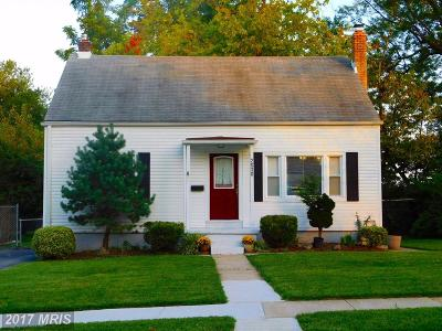 Baltimore Single Family Home For Sale: 2630 Park Drive
