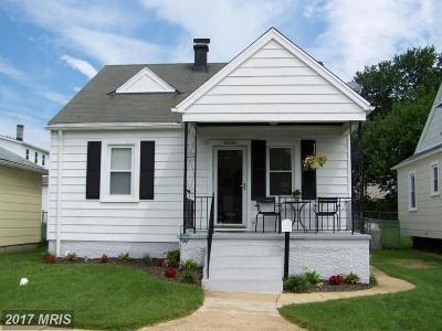 Baltimore Single Family Home For Sale: 2900 Park Terrace