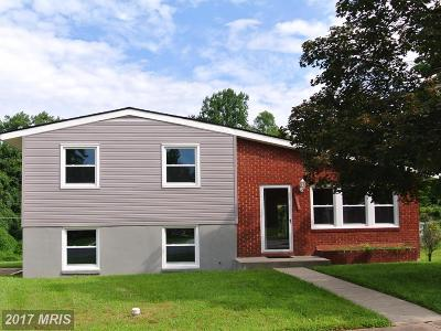 Pikesville Single Family Home For Sale: 1217 Cobb Road
