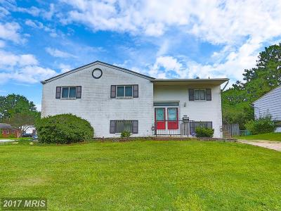 Randallstown Single Family Home For Sale: 9024 Bruno Road