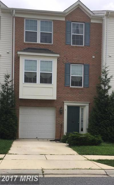 Randallstown Townhouse For Sale: 3 Sunday Silence Court