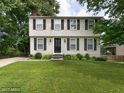 Nottingham Single Family Home For Sale: 8640 Saxon Circle