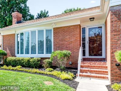 Baltimore Single Family Home For Sale: 1107 Green Acre Road