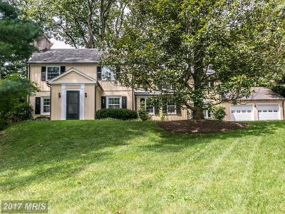 Baltimore Single Family Home For Sale: 7815 Overbrook Road