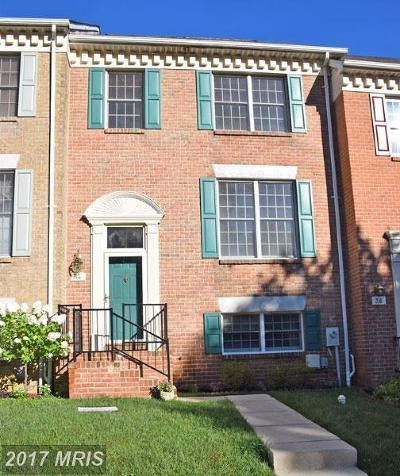Hunt Valley, Lutherville Timonium Townhouse For Sale: 34 Alderman Court