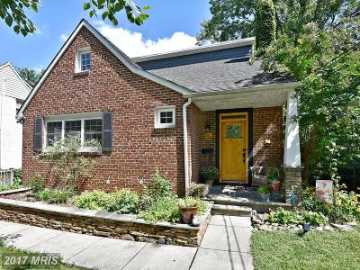 Catonsville Single Family Home For Sale: 118 Beechwood Avenue