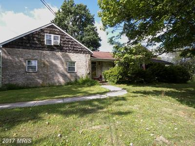 White Hall Single Family Home For Sale: 20410 Kirkwood Shop Road