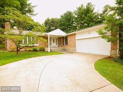 Lutherville Timonium Single Family Home For Sale: 2215 Spring Lake Drive