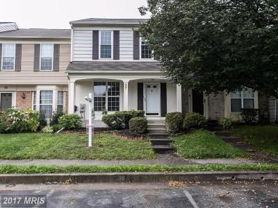 Owings Mills Townhouse For Sale: 37 Silentwood Court
