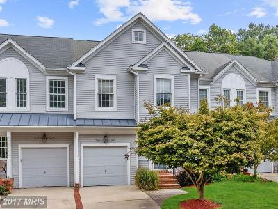 Ellicott City Townhouse For Sale: 804 Charles James Circle