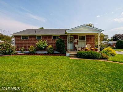 Lutherville Timonium Single Family Home For Sale: 2114 Sweetbrier Lane