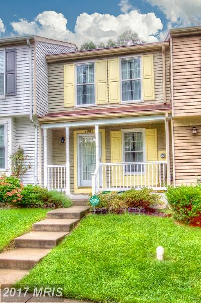 Perry Hall Townhouse For Sale: 4903 Clifford Road