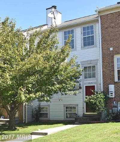 Randallstown Townhouse For Sale: 4206 Pinefield Court