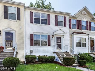 Randallstown Townhouse For Sale: 3547 Orchard Shade Road