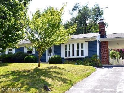 Lutherville Timonium Single Family Home For Sale: 1804 Eastridge Road