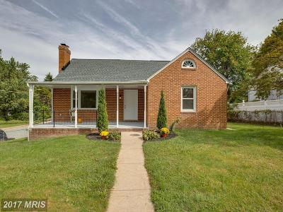 Baltimore Single Family Home For Sale: 2104 Taylor Avenue