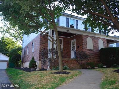 Catonsville Duplex For Sale: 115 Osborne Avenue