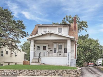 Parkville Multi Family Home For Sale: 8907 Harford Road