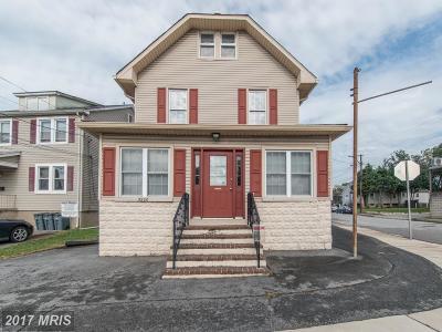 Halethorpe Single Family Home For Sale: 5200 Leeds Avenue