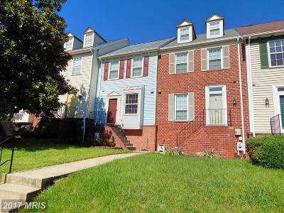 Baltimore Townhouse For Sale: 2408 Potterfield Road