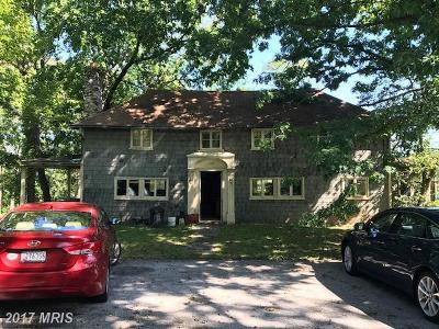 Lutherville Timonium Single Family Home For Sale: 218 Seminary Avenue