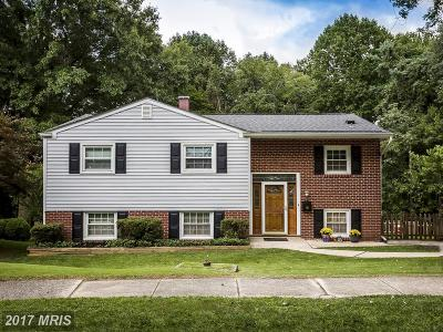 Baltimore Single Family Home For Sale: 110 Woodwind Road