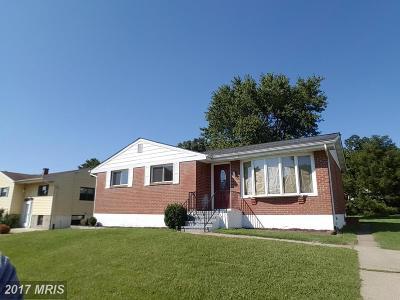 Baltimore Single Family Home For Sale: 5704 Daybreak Terrace