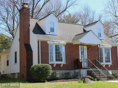 Single Family Home For Sale: 11705 Hillside Road