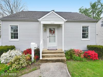 Lutherville Timonium Single Family Home For Sale: 118 Oakway Road