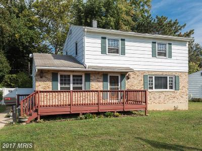 Reisterstown Single Family Home For Sale: 304 Highmeadow Road