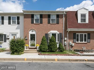 Baltimore Townhouse For Sale: 827 Thimbleberry Road