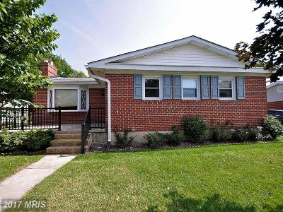 Baltimore Single Family Home For Sale: 415 Chalfonte Drive